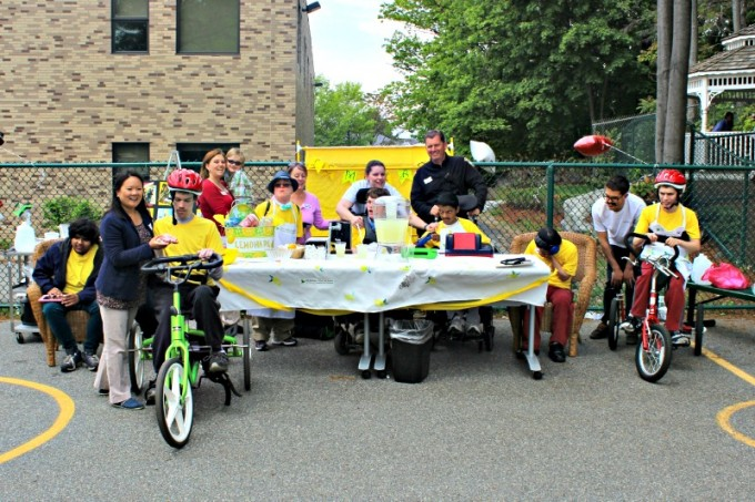 Kennedy Day School Lemonade Stand - Group Photo