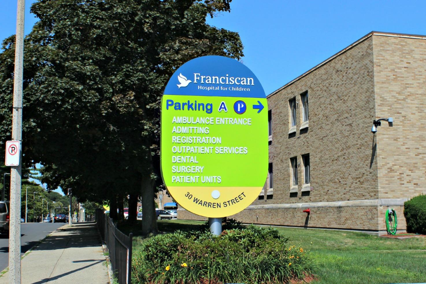 Parking Lot A Signage