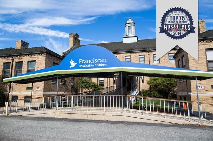 Top 75 Social Media Friendly Children's Hospitals Badge