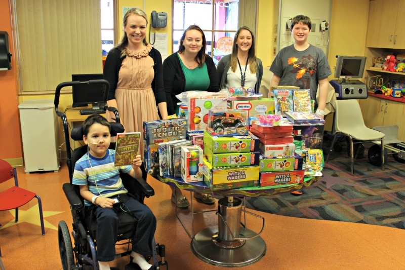 Barton Associates Holiday Donation