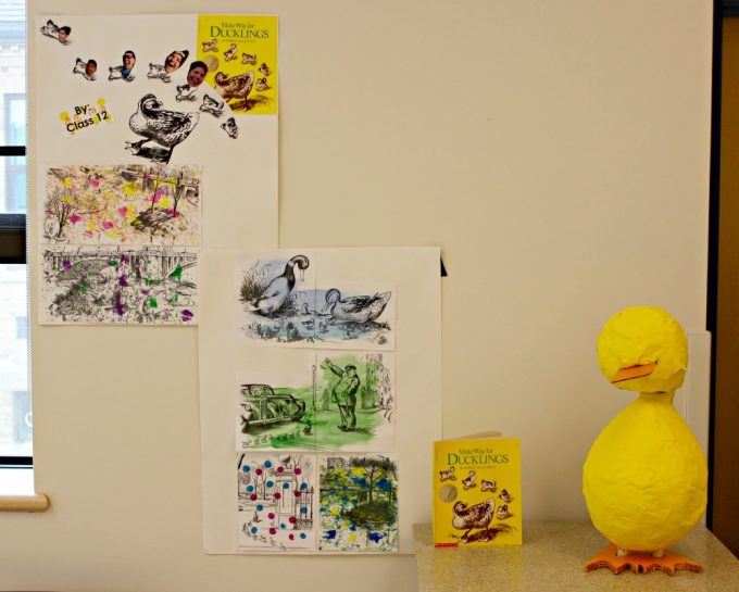 KDS Drop Everything and Read - Make Way for Ducklings Project