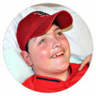 Brandon, a patient at Franciscan Children's