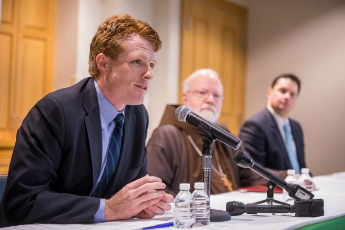 Congressman Joe Kennedy III expresses his support for Franciscan Children's new mental health initiatives