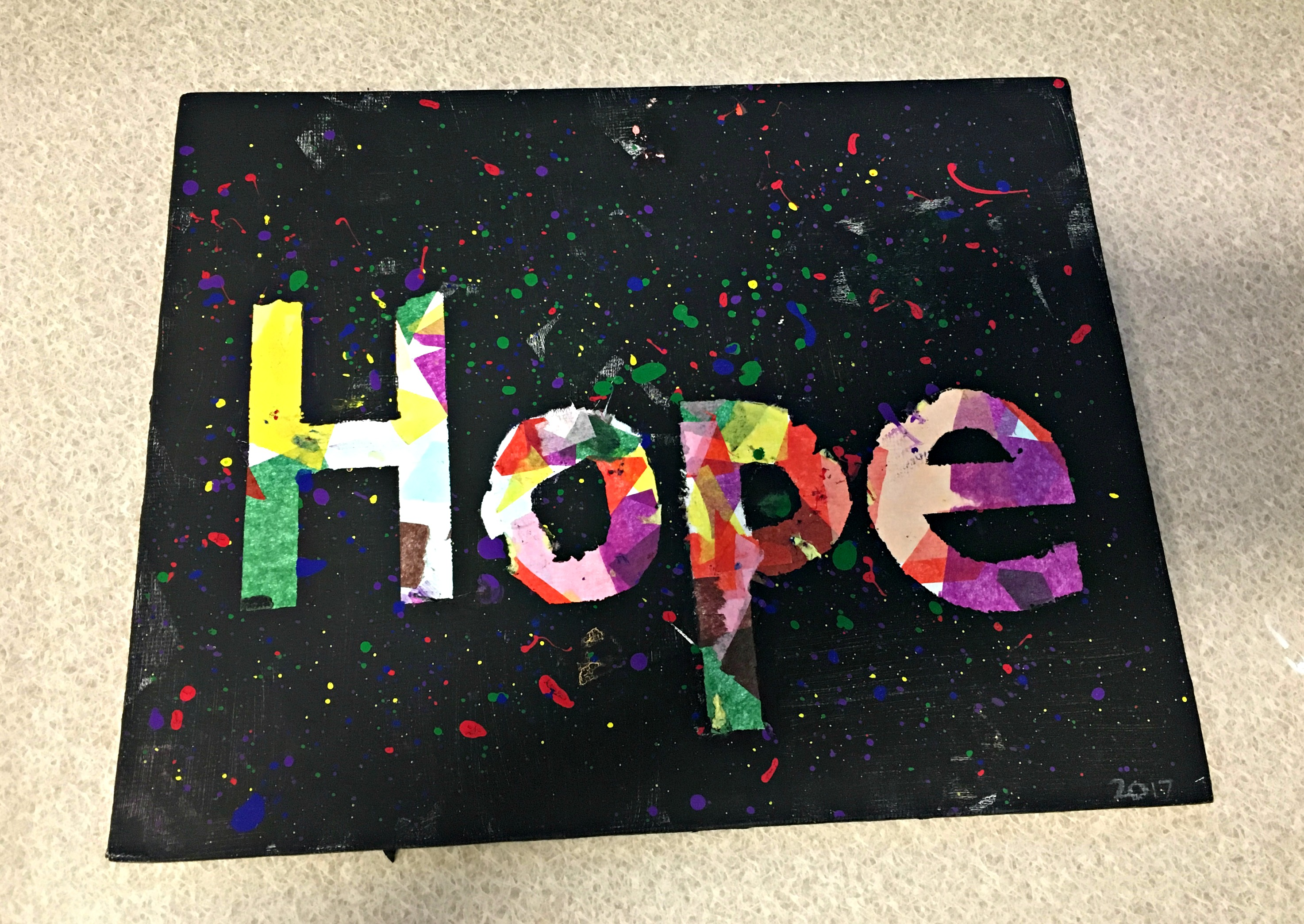 Inpatient Mental Health Artwork - HOPE