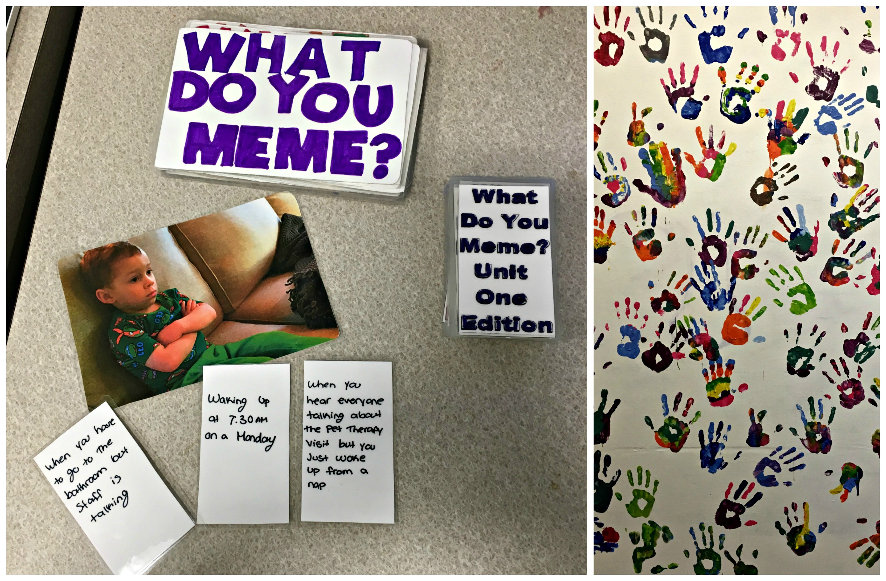 Unit 1 Meme and Art Collage